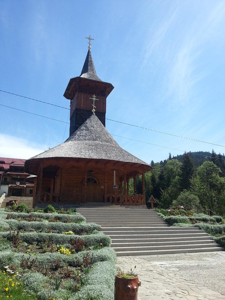 Biserica Mânăstirii Paltin Petru Vodă