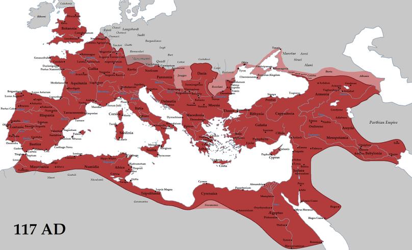 Romania sau Imperiul Roman - mic