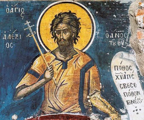 Fresca Dionisiu Sfantul Alexie sec 16