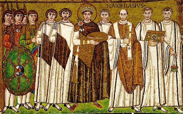 Iustinian cel Mare mozaic Ravena